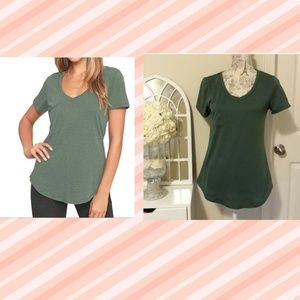 $4 WITH BUNDLE-GREEN TEE SM